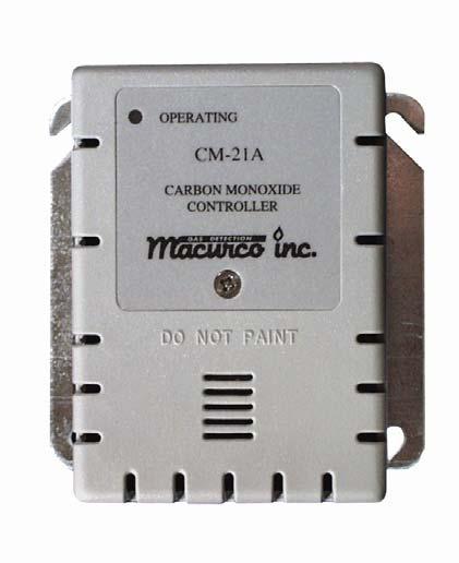 Macurco Cm 21a Carbon Monoxide Gas Detectors General