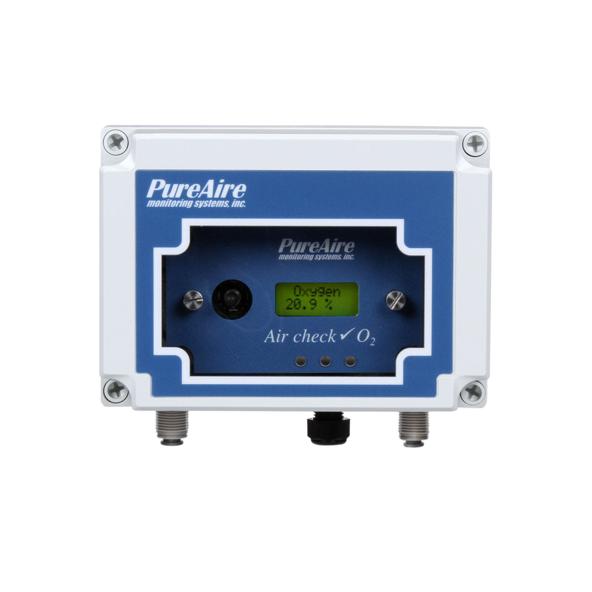 Bacharach 1520-2002 IEQ Temperature RH CO2 0-10000 ppm O2 Pump Chek Monitor
